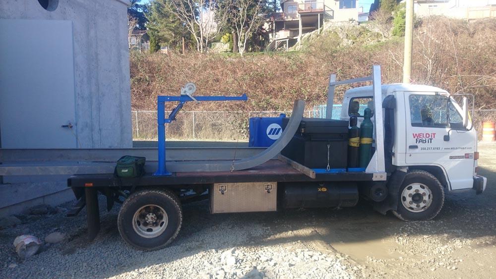 2 Rig With Crane Parts