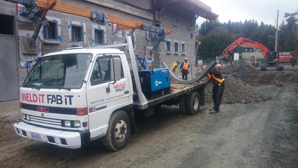 3 Rig Crane Install