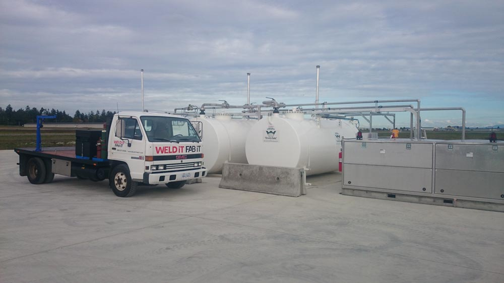 Aviation Fuel Stainless Steel  Fill Station