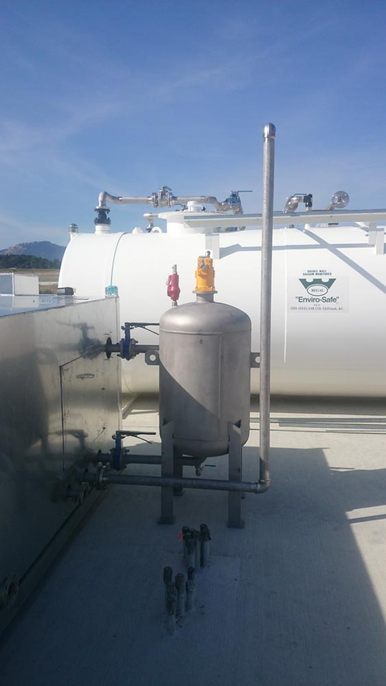 Aviation Stainless Steel Fuel Fill Station 1