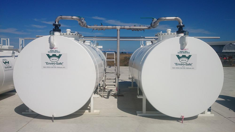 Aviation Stainless Steel Fuel Tanks 1