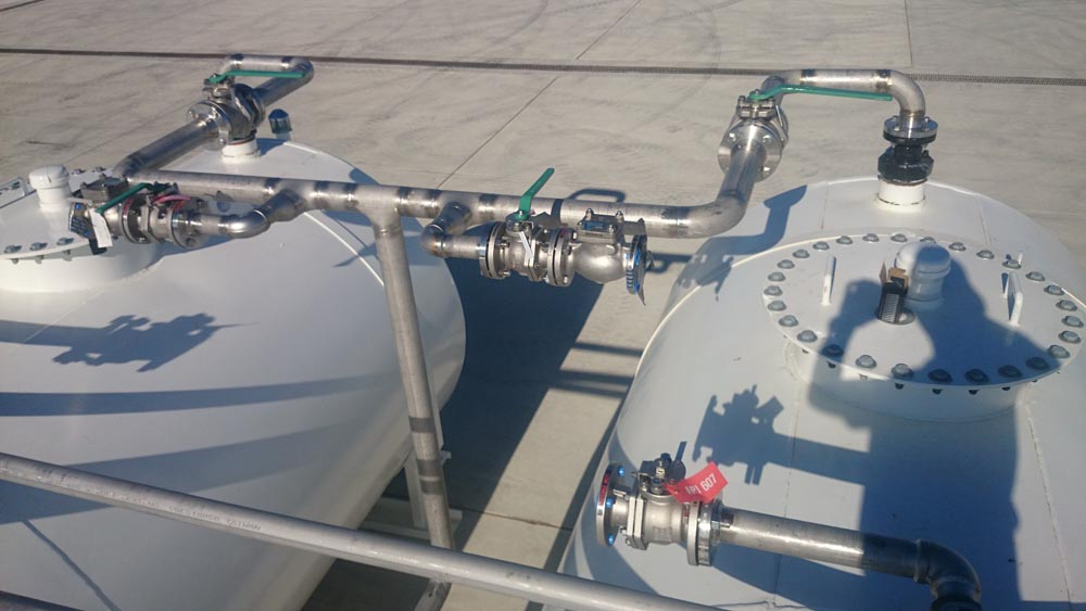 Aviation Stainless Steel Fuel Tanks 2
