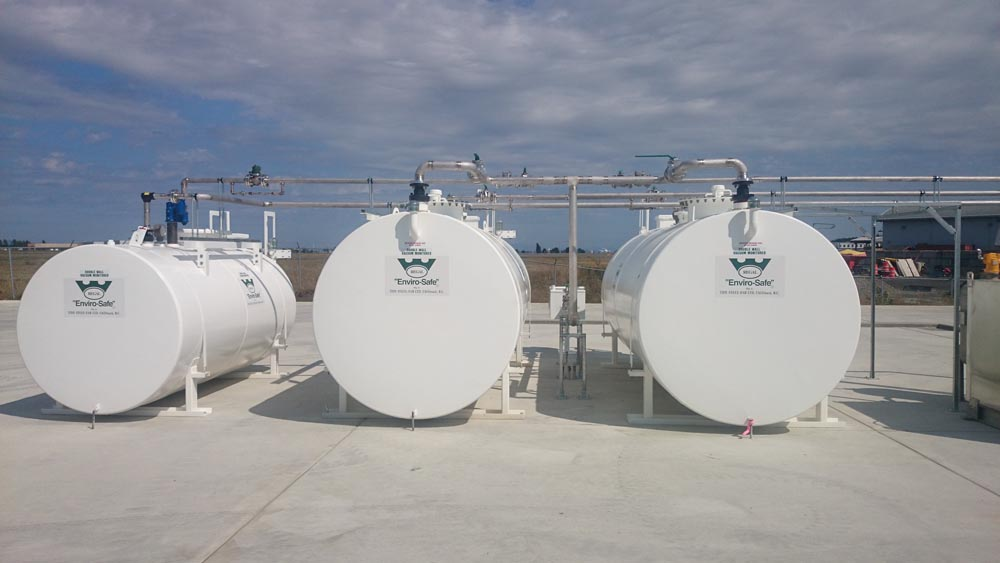 Aviation Stainless Steel Fuel Tanks 3