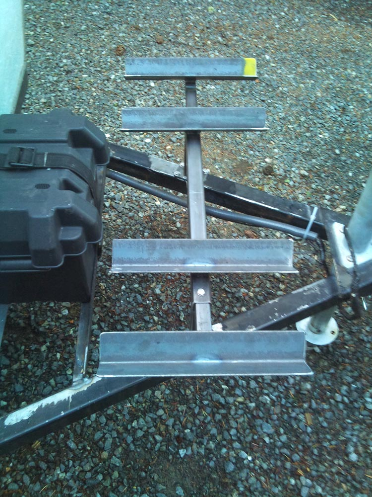 Custom Adjustable Steel Bike Rack 2