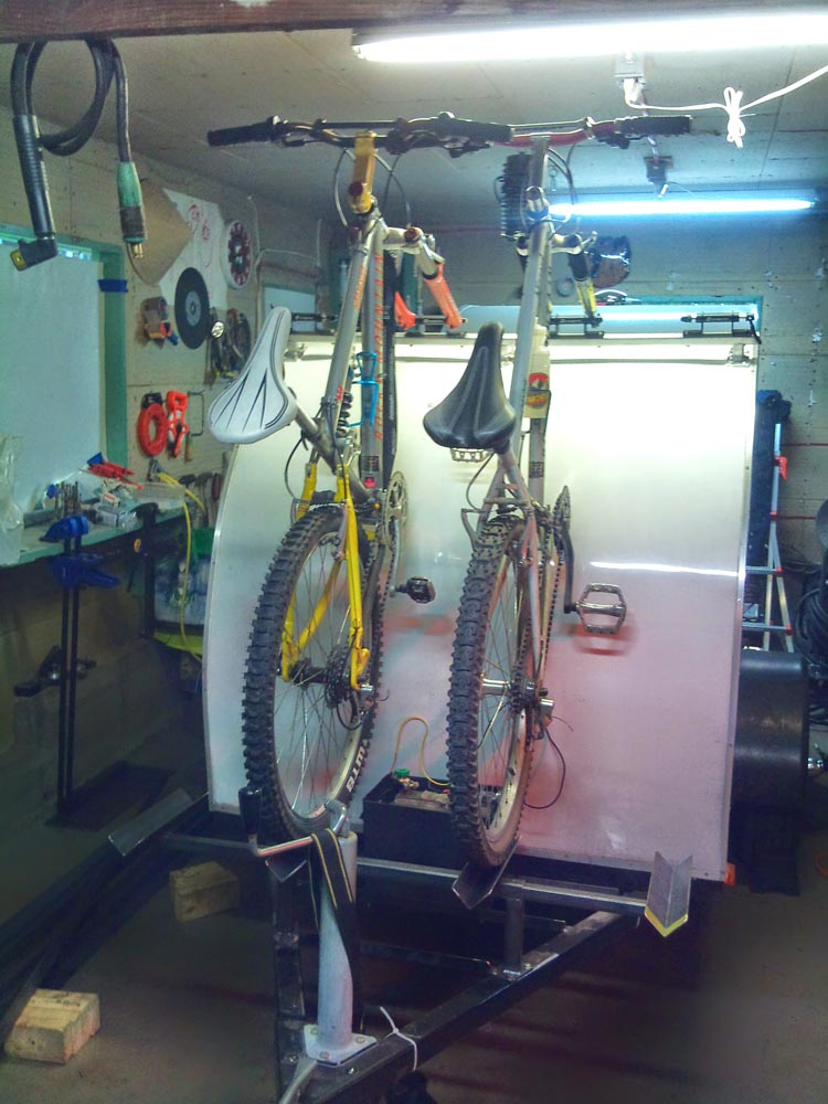 Custom Aluminum Bike Rack 4