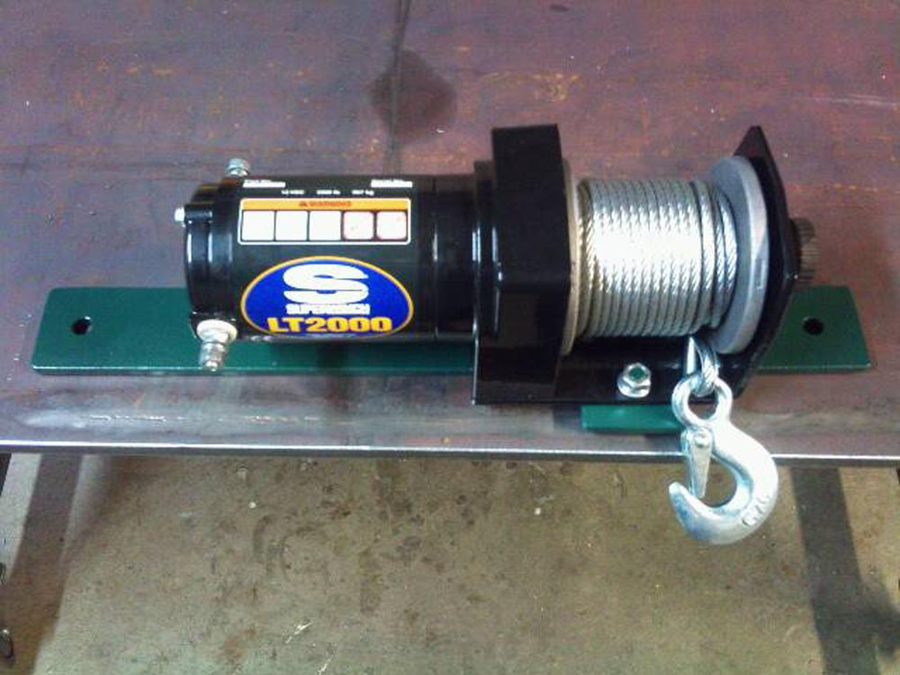 Custom Small Winch Mount 2