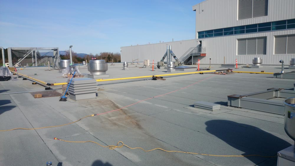 Gas Lines Roof Top