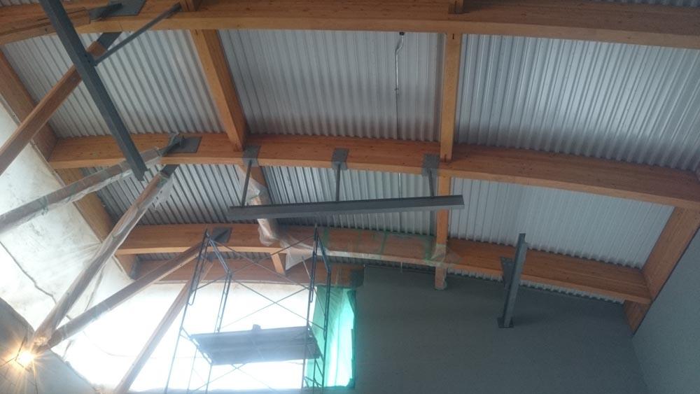 Mono Rail Crane Install 2