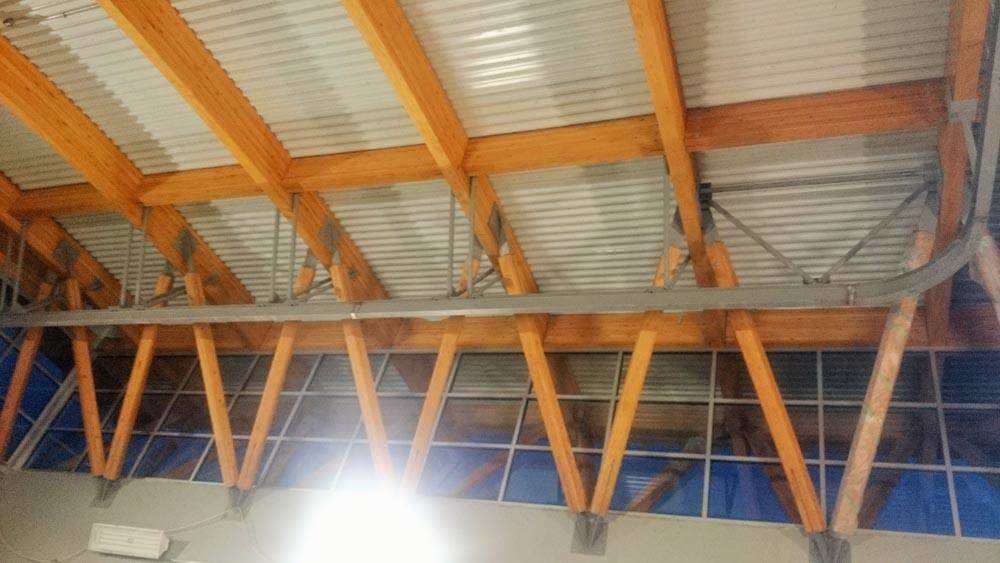Mono Rail Crane Install 4