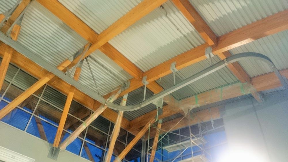 Mono Rail Crane Install 5